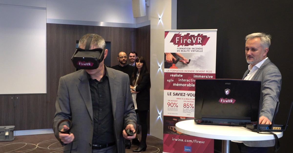 formation sécurité incendie realite virtuelle demonstration
