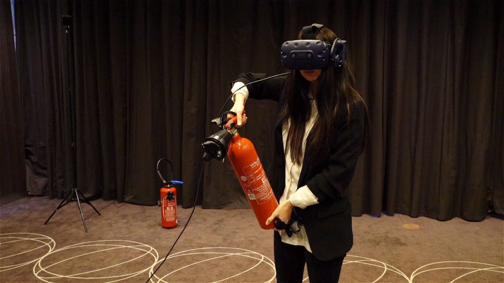 solution formation incendie realite virtuelle extincteurs
